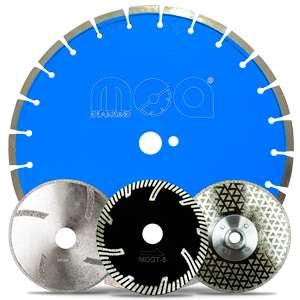 Disco Diamantado electro-plateado para corte y desbaste 5 pulgadas