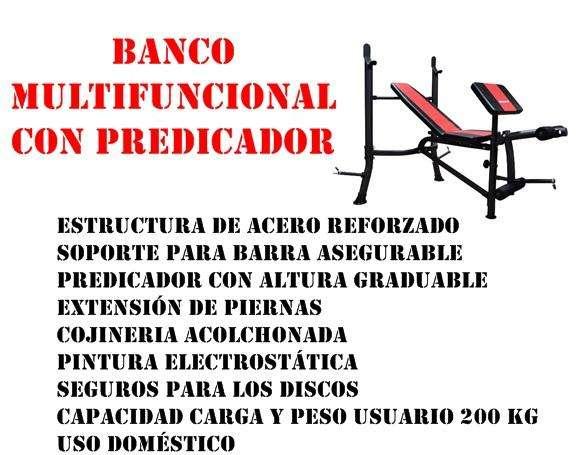 BANCO DE FUERZA CON PREDICADOR