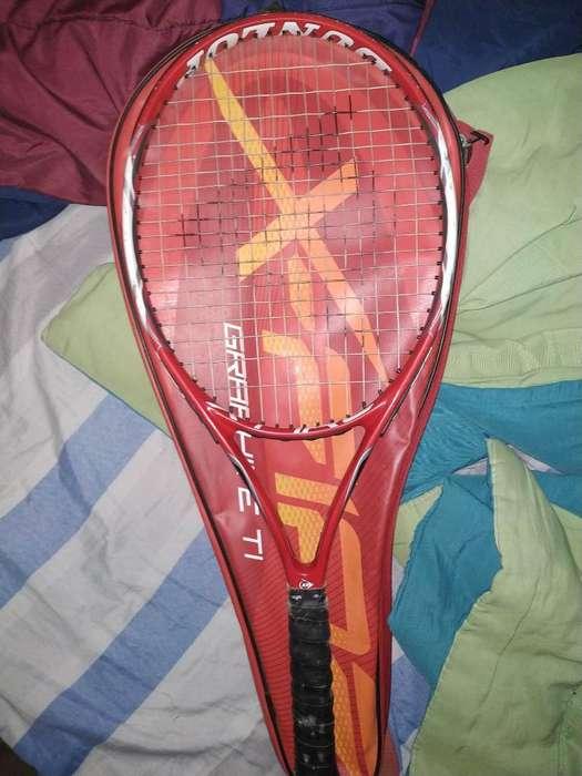 Raqueta de Tenis Dunlop con Funda Inclui