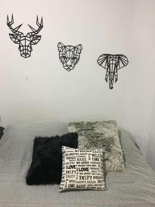 diseños de caras para decorar sala o habitación c/u 22000