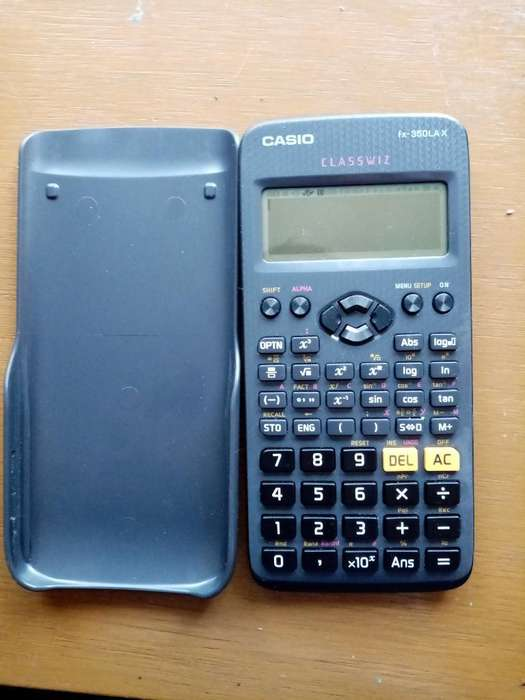 Vendo Casio Calculadora Casio Fx-350lax