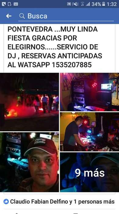 SERVICIODE DJ - 1535207885 DEJAR WATSSAP 5000 PESOS