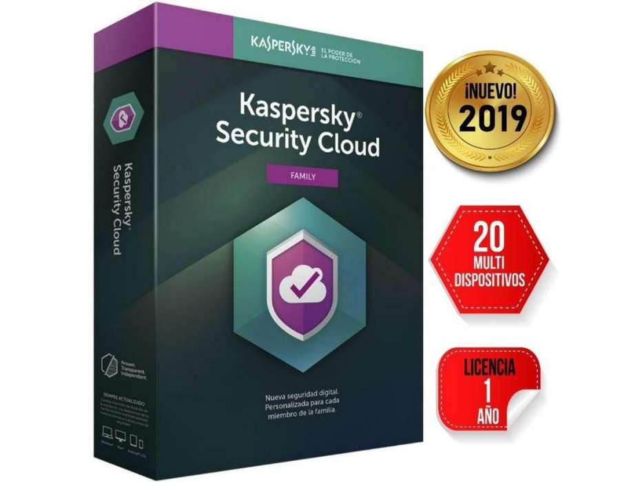 Kaspersky Security Cloud Family 20 Dispositivos 1 Año
