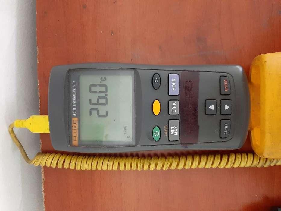 Termómetro de entrada único 512 Fluke