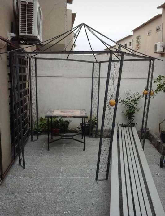 Gazebo parasol carpa exterior