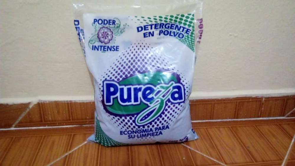Detergente en Polvo Pureza