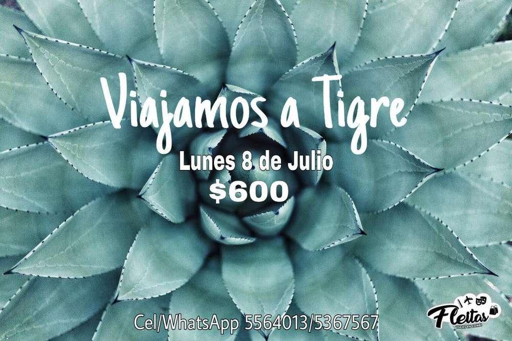 Combi a Tigre desde La Plata Y Berisso
