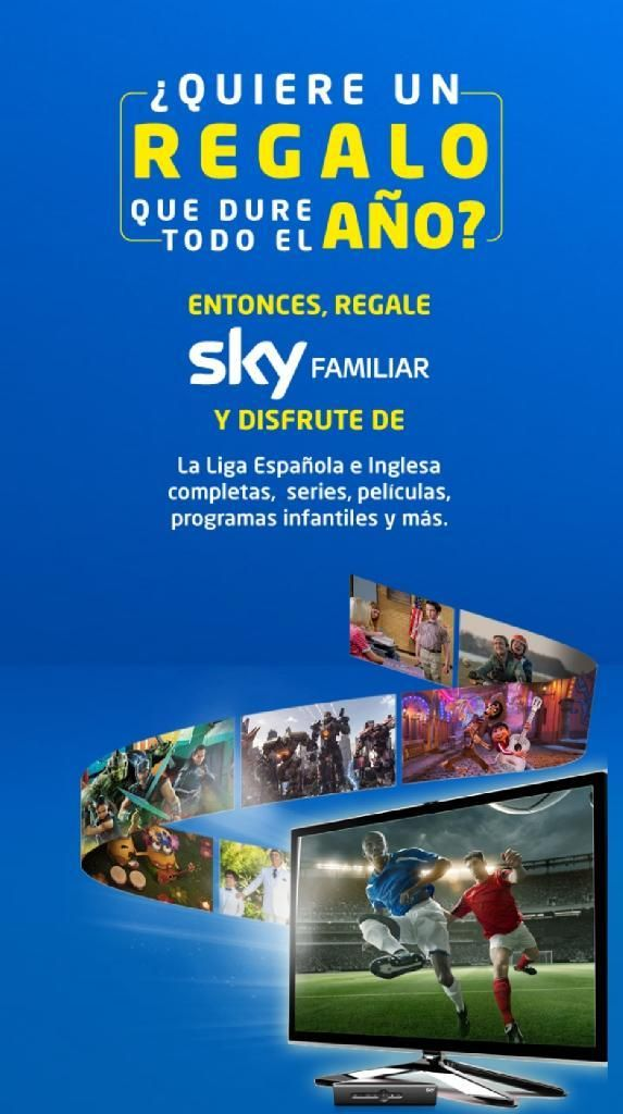 Sky Cable Tv Satelital