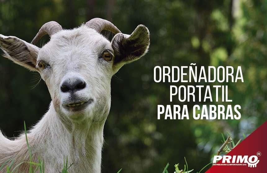 ordeñadoras portátil para cabras de 1 y 2 Bajadas.