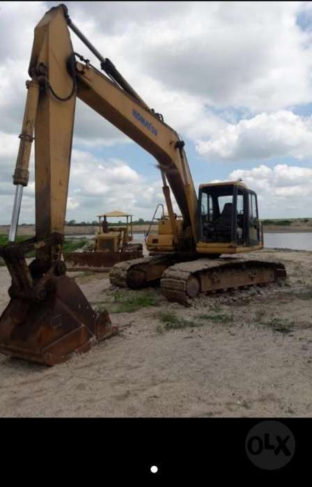 Vendo-alquilo Excavadora Komatsu Pc200-6