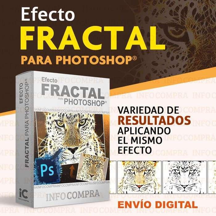 Plugin Fractal Para Photoshop. ¡Agrega Efectos Especiales a tus Imágenes!