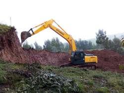 Servicio de Alquiler de Excavadora