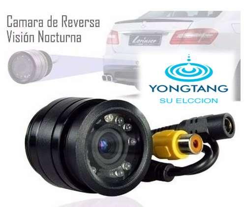 CAMARA DE RETRO PARA CARRO VISION NOCTURNA FULL HD YONGTANG UN BUEN ACCESORIO PARA AUTO