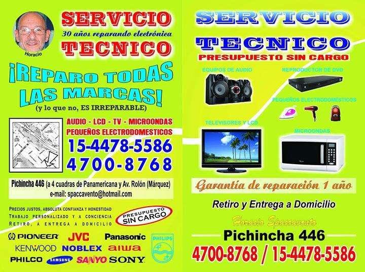 SERVICIO TECNICO TODAS LAS MARCAS