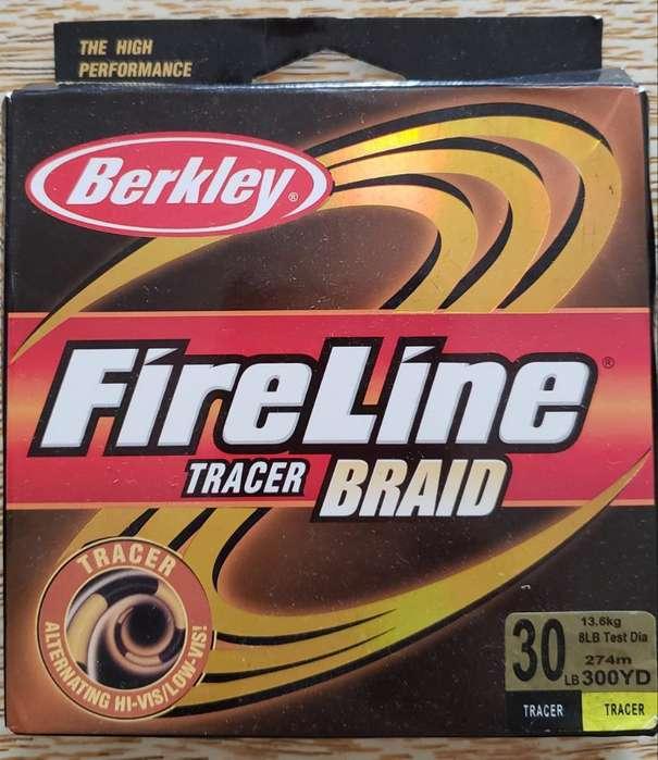 Multi Berkley Fireline 30lb 270mts