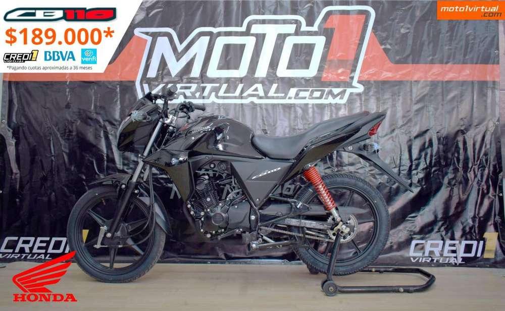 Honda CB 110 STD. NUEVA ES NUEVA!! FÁCIL FINANCIACIÓN.
