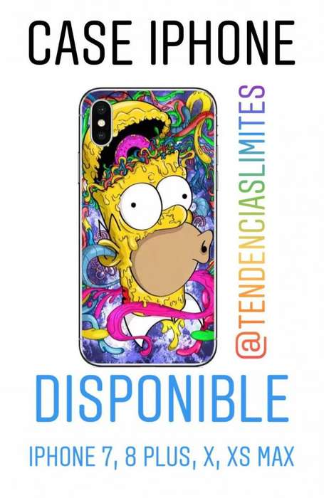 Estuche O Forro iPhone Simpsons