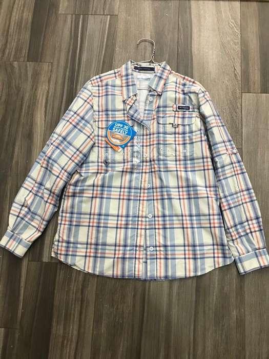 Camisa Columbia de Mujer