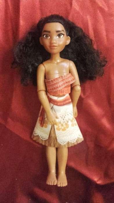 Muñeca Moana Articulada 25cm Disney Original Hasbro Usada