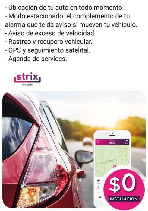 Rastreo Y Recupero Satelital,autos Motos