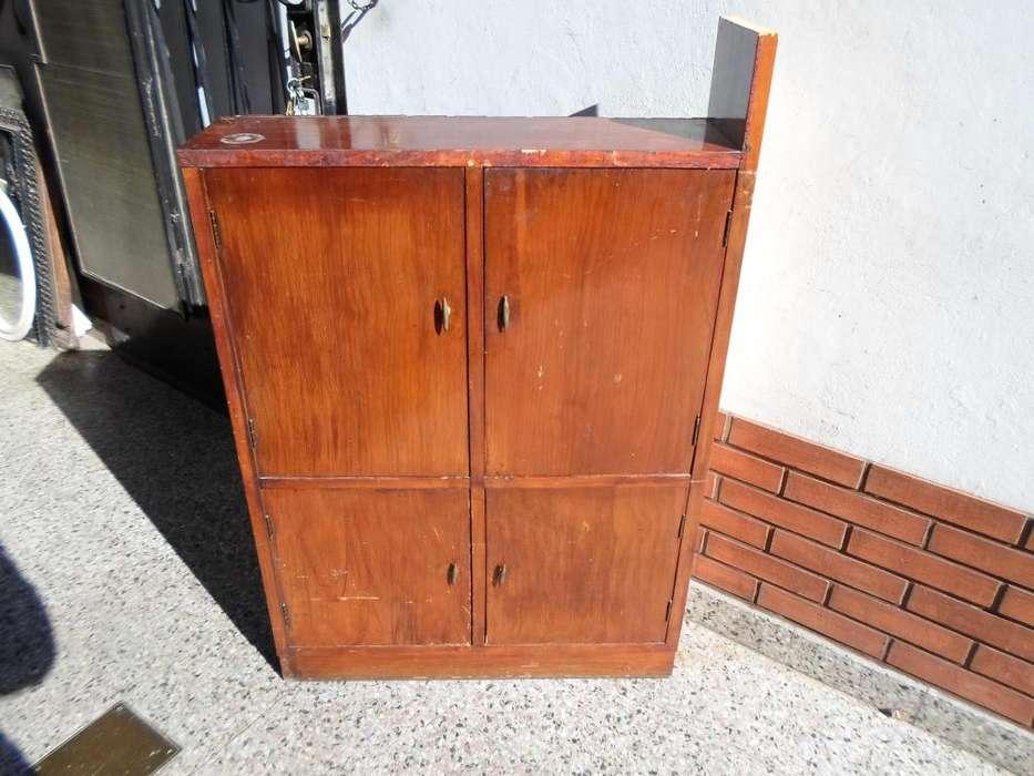 mueble alacena madera
