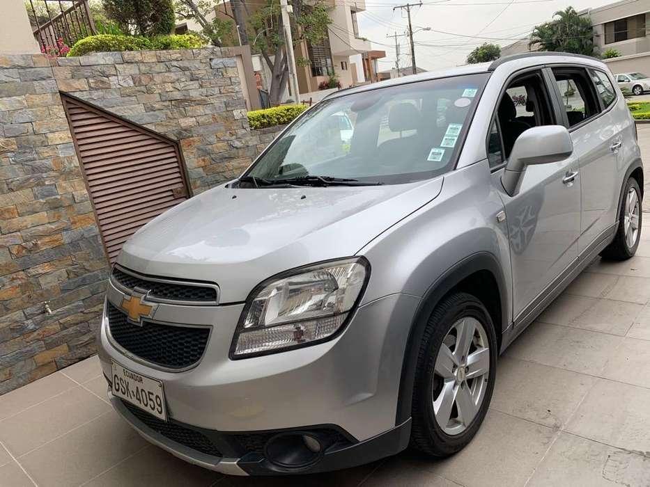 Chevrolet Orlando 2014 - 115000 km