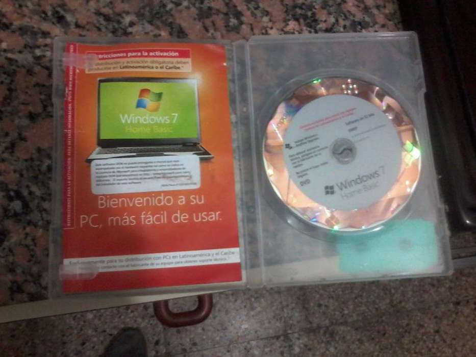 CD instalador de windows 7