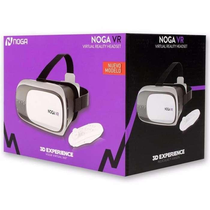 Vr Box Noga Lentes Realidad Virtual con Joystick