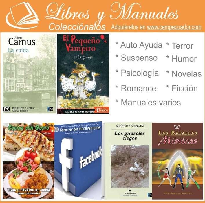 Libros, Manuales, Cursos