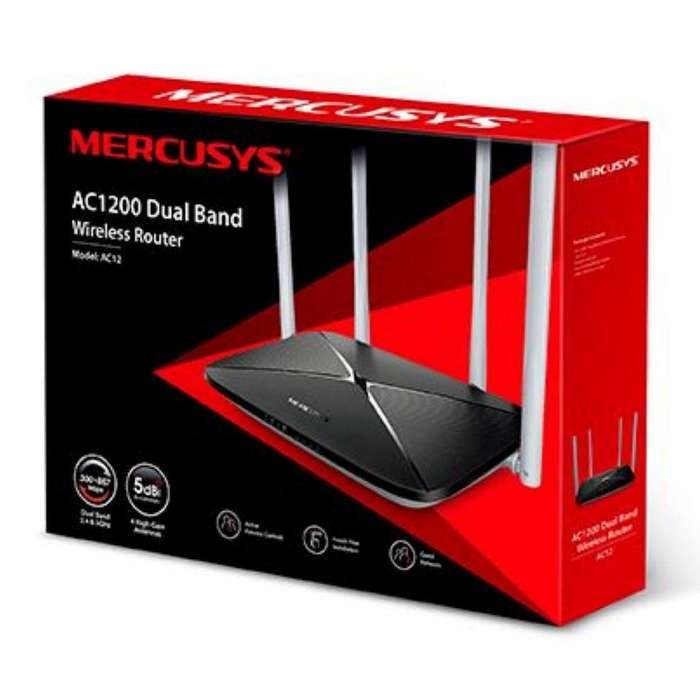 Router Dual Band Mercusys AC1200