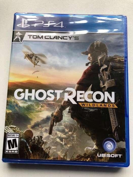 Juego Ps4 Tom Clancys Ghost Recon Nuevo