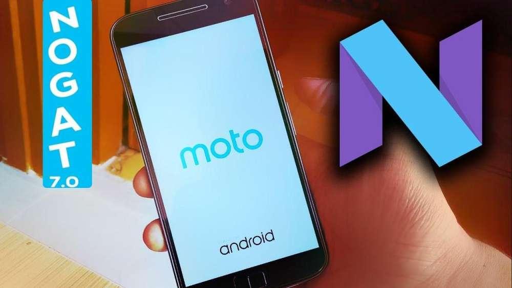 Increible! Actualizacion Android Nougat 7.0 y 7.1.1 Oficial Motorola G4,G4 Plus y g4 PLAY