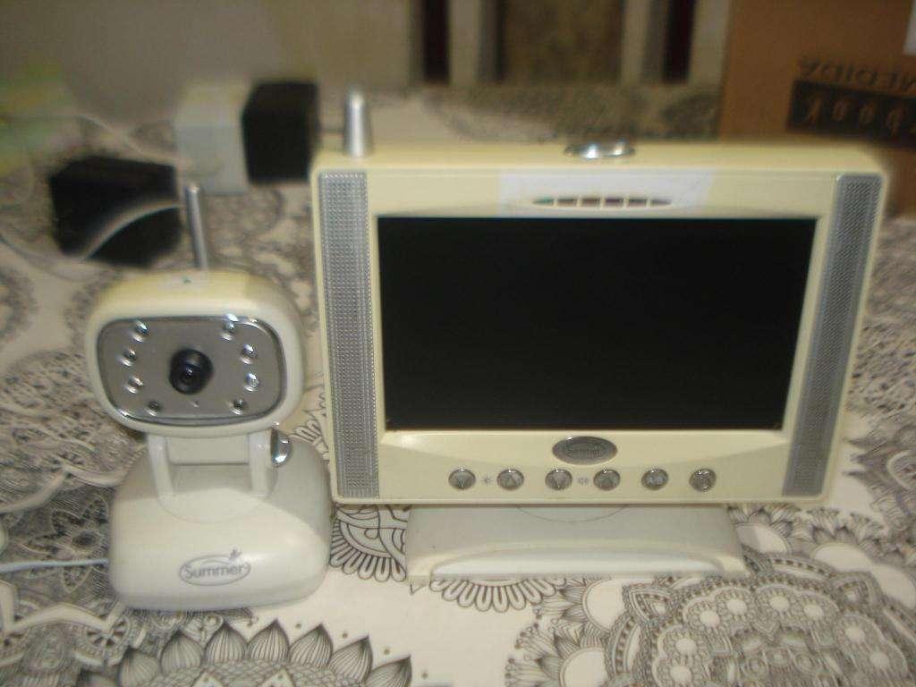 MONITOR LCD Y CAMARA MONIT SUMMER BABY CALL HOGAR C/SONIDO
