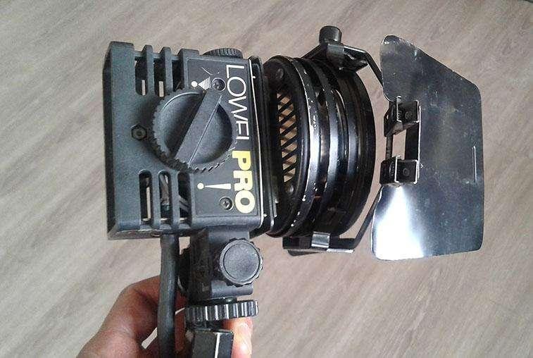 Lámpara para Video - Set de Televisión