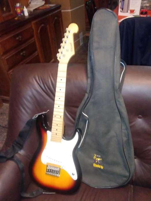 Guitarra Niños Midland/funda/amplific.