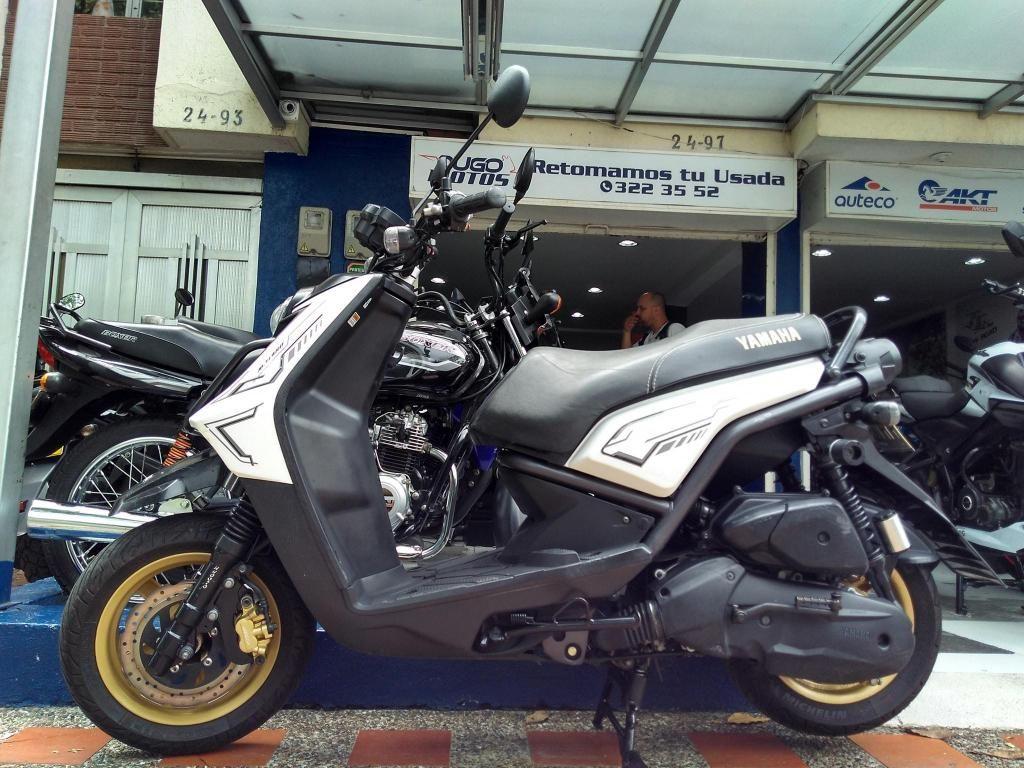Yamaha BWS X 125 modelo 2015 al día ¡Fácil y rápida financiación!