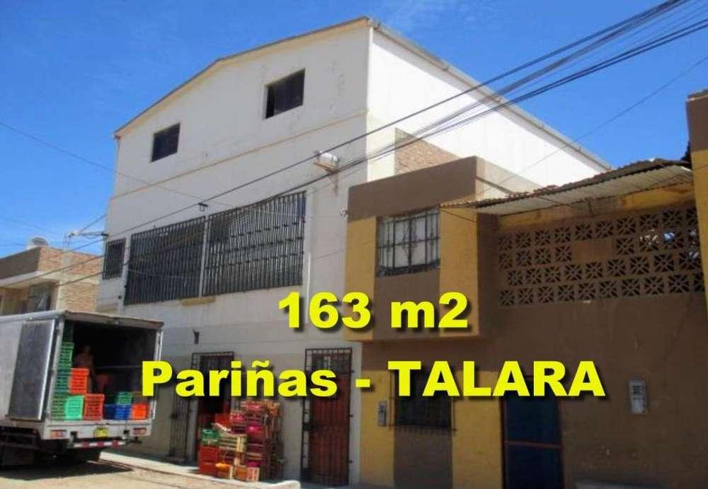 Vendo Inmueble Semi Industrial de 163.38 m2 en Las Pariñas Talara.