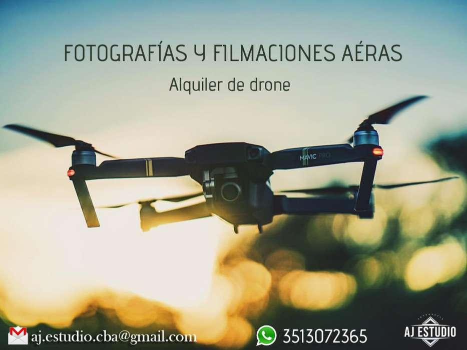 Alquiler de Drone Cordoba Books de fotos