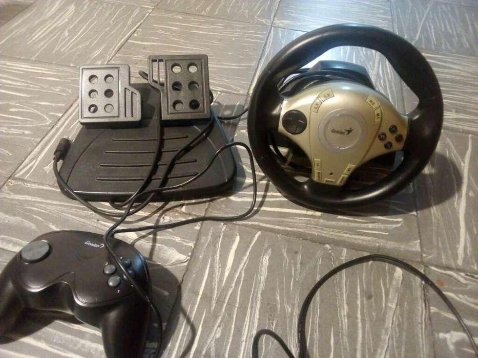 Joystick Timon, Pedales Y Control