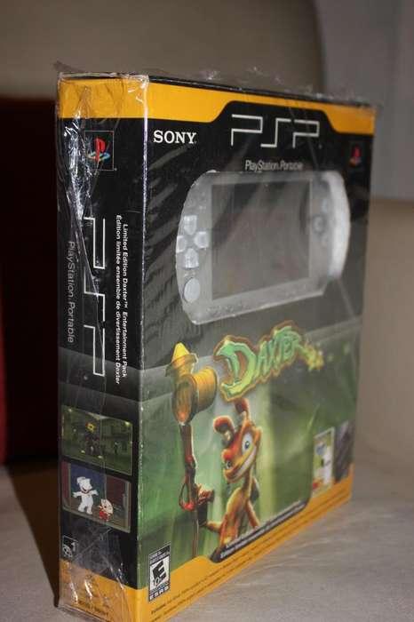PSP Playstation Silver Edicion Especial Daxter
