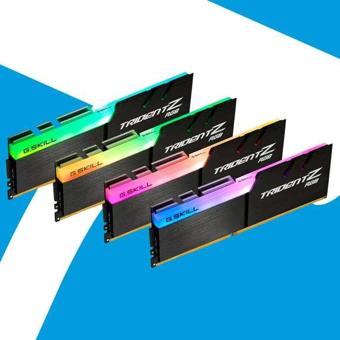 Acp - Memorias Ram Ddr4 G Skill Trident Z Rgb 3000 Mhz 8 Gb