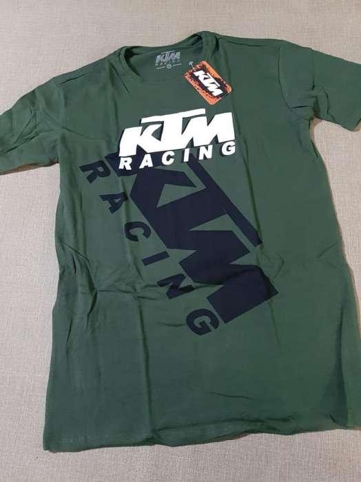 camisetas en color verde