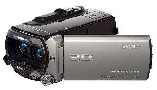 Filmadora 3D, Full HD, sonido envolvente 5.1, Sony HDR TD10