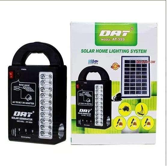Kit Solar Portable para Camping