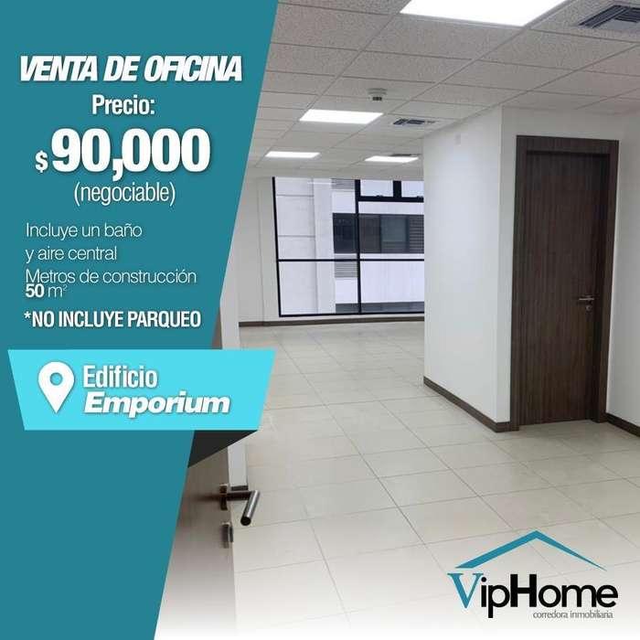 Oficina en Puerto Santa Ana <strong>edificio</strong> Emporium Vendo Oportunidad