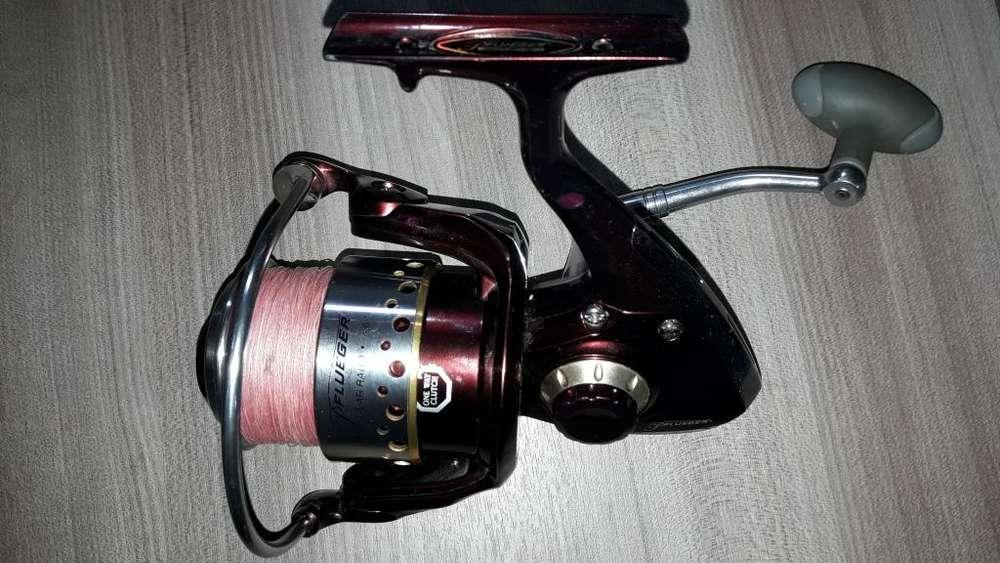 Carrete De Pesca Pflueger President Xt 10 Balineras 4.6:1