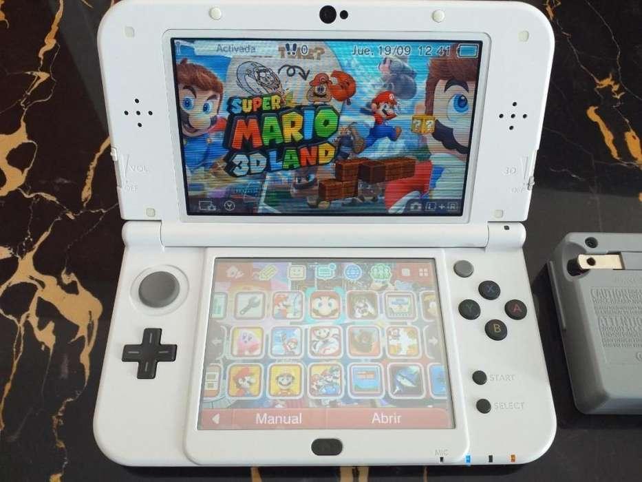 Nintendo new 3ds xl programada full juegos 64gb