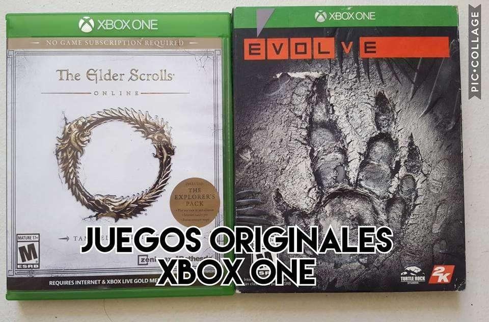 juegos originales para xbox one solo venta precio fijo