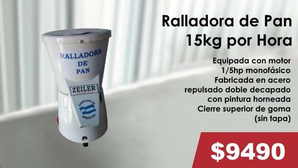 RALLADORA DE PAN 15KG POR HORA