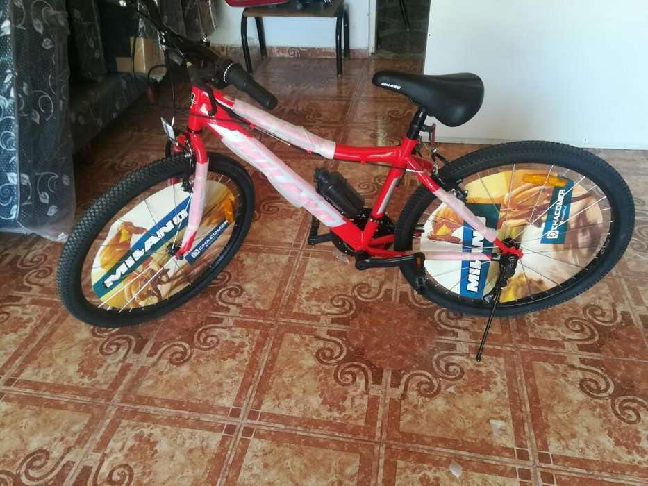 Bici Rodado 26 con Cambio
